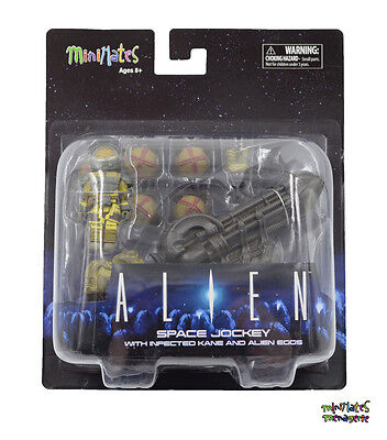 Alien Eggs (Aliens Minimates Deluxe Space Jockey with Infected Kane and Alien)