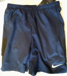 "Nike Dri-Fit 7"" Flex Challenger 2 in 1 Shorts Navy Men's - Small"