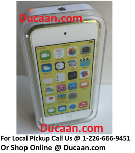 NEW Apple iPod touch 5th Generation Yellow (16 GB) - SEALED