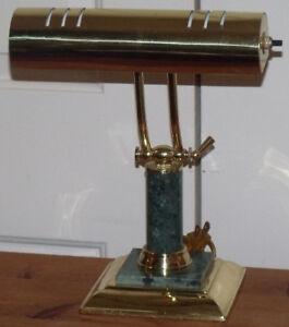 Lampe style piano ou de bureau ajustable de couleur laiton
