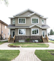 NEW 3 bed + den, 3 bath home near the University and Whyte Ave