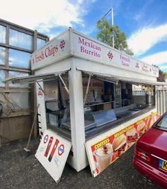 MOBILE FOOD/CATERING TRAILER FOOD TRUCK JIFFY VAN BURGER SHACK KIOSK