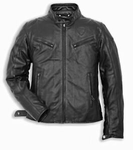 Ducati (Dainese) Urban 14 Perforated Leather Jacket Size 56