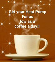 Heat Pump / Air Conditioner payment plans available