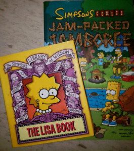 The Simpsons Book Combo