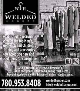 WeldedHanger Online Consignment Clothing Strathcona County Edmonton Area image 1