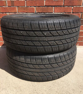 Tires: 215 55R17: 2 Grand Prix Tour RS 215 55 R17