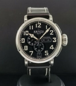 Zenith Pilot Annual Calendar Watch - limited edition - save $$