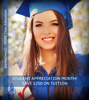 Online Dental Reception Certificate-Payment Plans for Tuition!