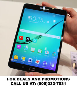 Amazing Specials on Samsung TAB S2 & S tablets!