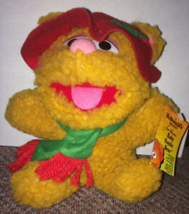 Fozzie Bear Muppets Baby 1980's McDonald's Plush Toy 7""