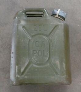 Canadian Army/ Military Scepter 20L Fuel Cans
