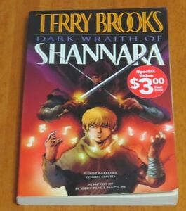 Dark Wraith of Shannara Graphic Novel by Terry Brooks