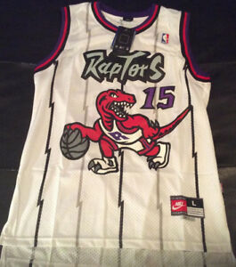 Brand New Toronto Raptor Jerseys ! Carter and McGrady