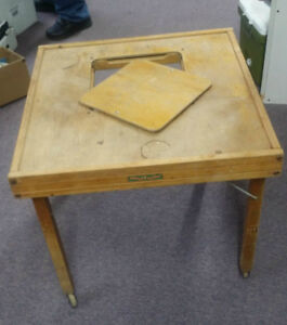 Antique Baby Walker use as coffee table