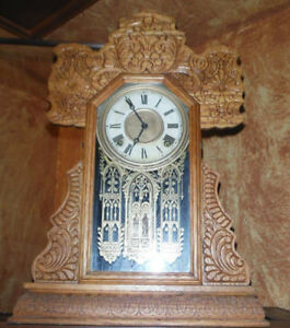 Horloge antique fonctionnelle
