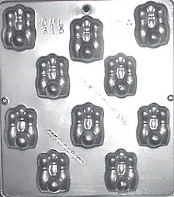 Chocolate Ball Candy (Bowling Pins & Ball Chocolate Candy Mold  315)