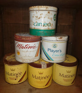 Vintage Tobacco Tins - $5 each
