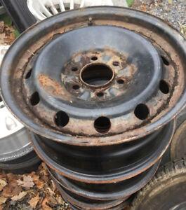 4 roues d acier pour Ford f150 17 pouces