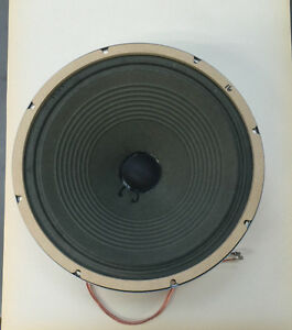 Weber Ceramic 1230 30 watt/16ohm Speaker - Hardly Used