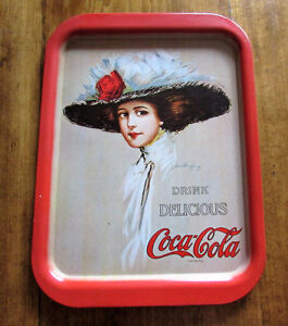 Vintage Coca Cola Tray 1971 Advertising Metal Tray Hamilton King Kitchener / Waterloo Kitchener Area image 3