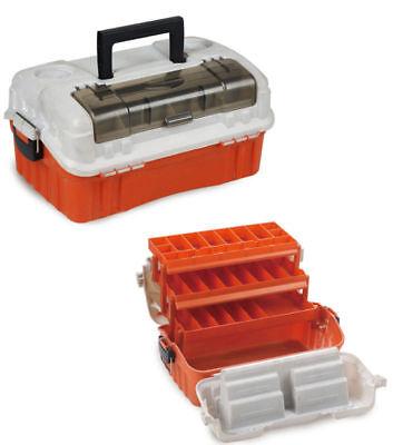 6550072 Cassetta da pesca porta accessori 3 Ripiani + porta artificiali spi RN