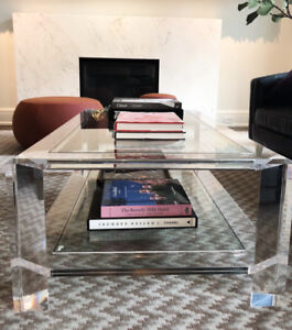 **New Avian glass coffee table from Elte