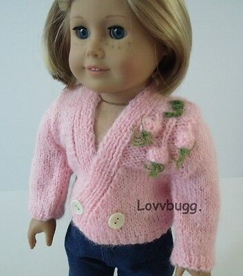 "Lovvbugg Pinkie Sweater for 18"" American Girl Doll Clothes"