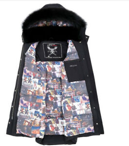 MENS NEW MOOSE KNUCKLE CRYSTAL PARKA EDITION