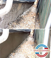 ALL PARGING AND STUCCO REPAIRS