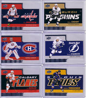 18 cartes hockey Tim Hortons 2015-16 (Crosby, Ovechkin, Price)