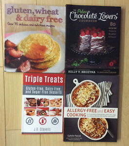 Brand new!! Allergy free cooking/baking books