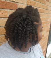 Shampoing et soins pour cheveux crépus, cheveux africains