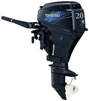 Used 2013 Tohatsu 20HP Outboard
