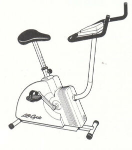 Bicycle exercice Life Cycle 3500