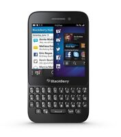 Blackberry Q5 CELL PHONE WIND ROGERS FIDO BELL