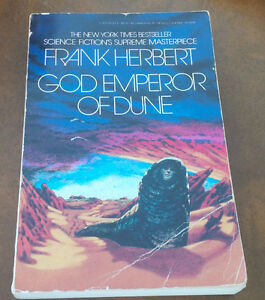 God Emperor of Dune, Frank Hebert, Science Fiction, 1981 Kitchener / Waterloo Kitchener Area image 1
