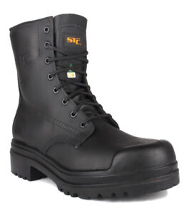 STC Waterproof & Fire-Resistant Work Boots, Size 7 Mens