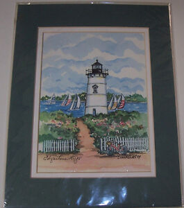 Set of  2 Collectors Series Great American Light House Prints London Ontario image 4