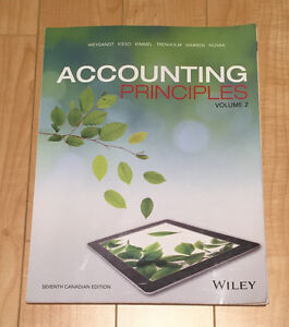 Accounting Principles - Volume 2 - Seventh Canadian Edition
