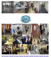 COMMERCIAL CLEANING & JANITORIAL SERVICES, ENTRETIEN COMMERCIAL.