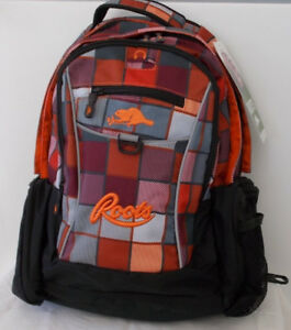 NEW: Roots Durable Laptop and Tablet Backpack  / School Bag