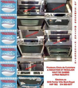 CUISINIERES Samsung LG Maytag FRIGIDAIRE Kitche Aid STOVES Ovens