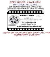 The Acting Academy Open House