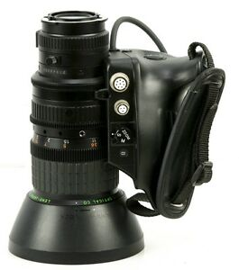 "Fujinon S14X7.5 BRM-4 1:1.4/7.5-105mm Video Lens 1/2"" mount"
