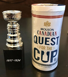 *** 2017 MOLSON CANADIAN BEER QUEST FOR THE STANLEY CUP SET NHL