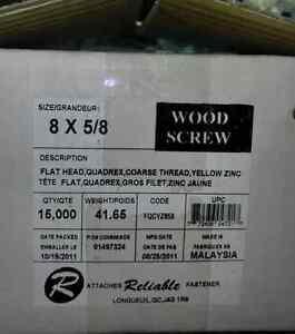 Vis a bois, wood screws