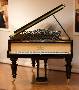 Steinway Model A3 Grand Piano 6'5""