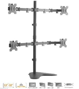 Quad Monitors Table Stand - New in Box