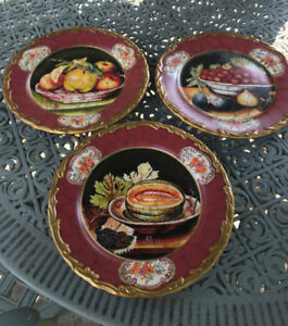 Bowring, Decorative 3 Plate Set
